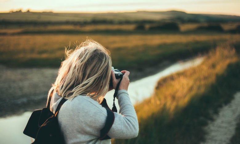 Are you too obsessed with taking photos when you're traveling?