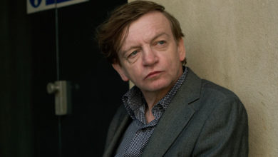 Photo of Mark e. Smith is from the edge of music and the underlying sound
